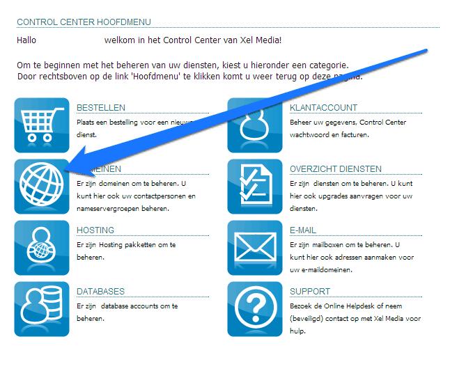 Domeinnaam selecteren waar je een website op gaat bouwen