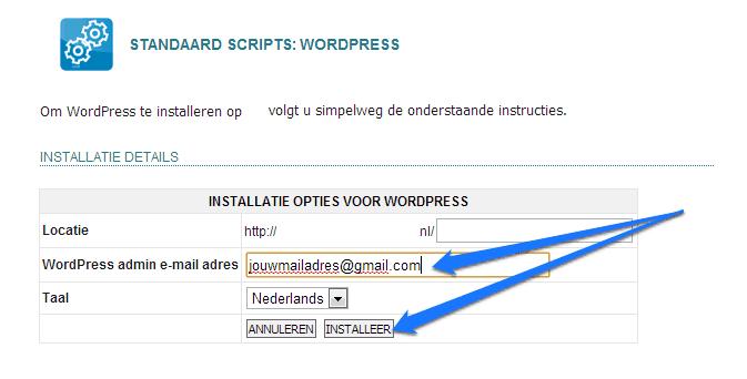 Zelf een WordPress website maken