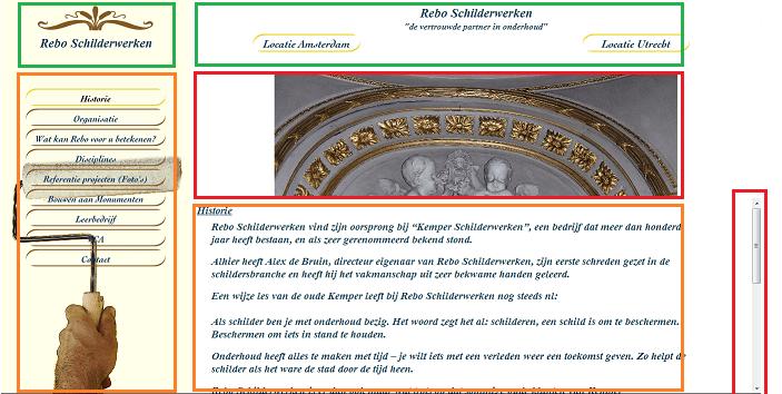 Schilder website analyse 2