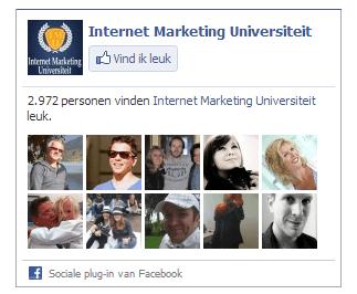 Facebook internet marketing universiteit