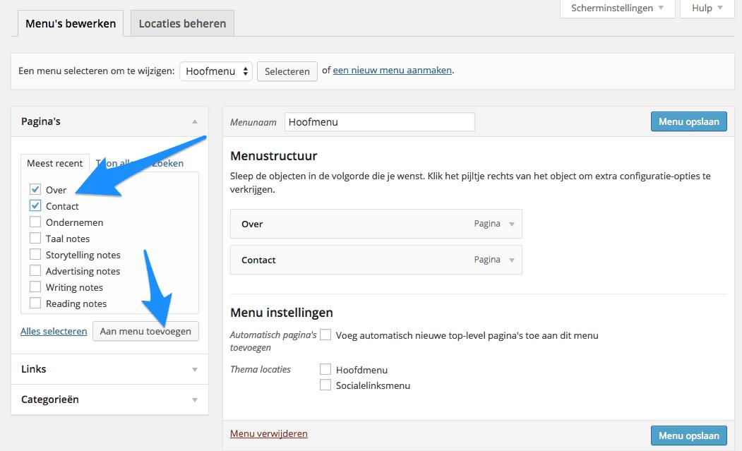 Menu_s__vullen_WordPress