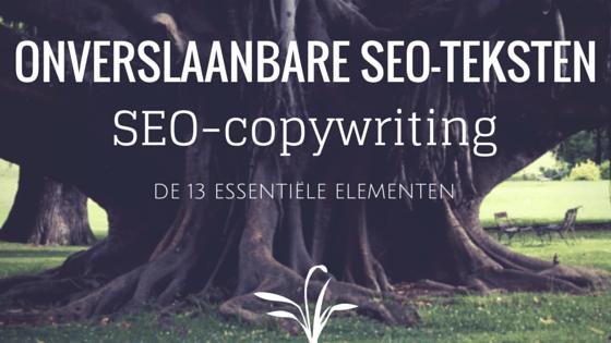 Onverslaanbare teksten met SEO-copywriting