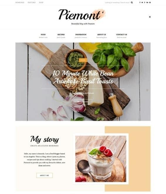 Voorbeeld Eigen WordPress blog thema