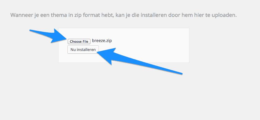 Breeze_nu_installeren