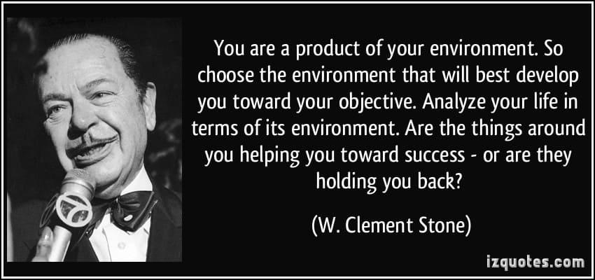 Je bent een product