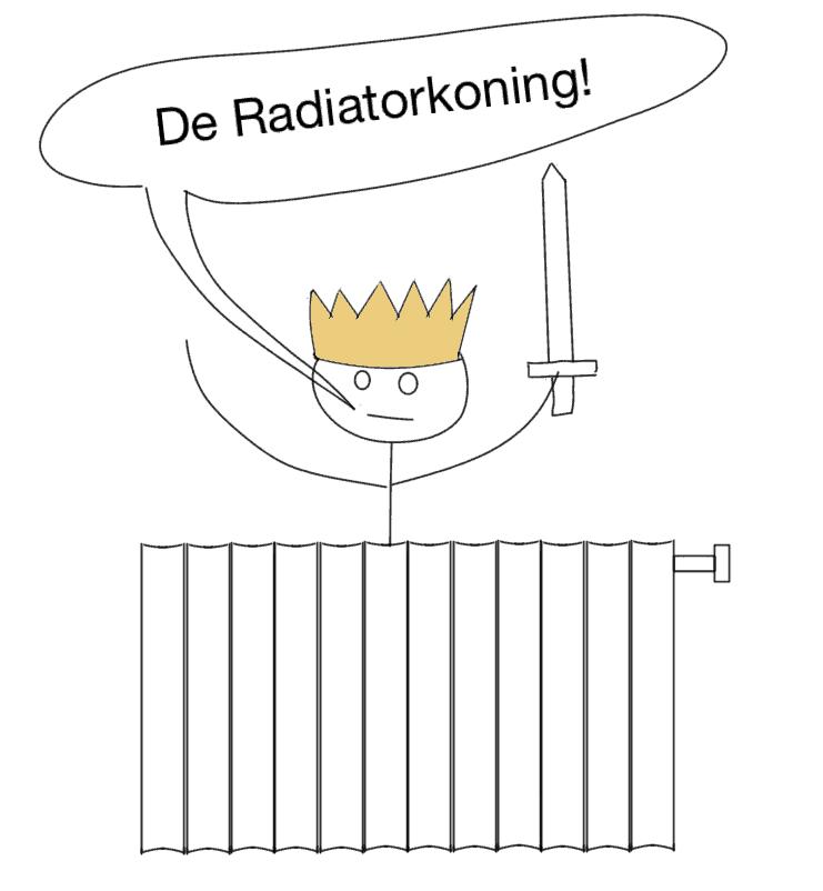 Radiatorkoning