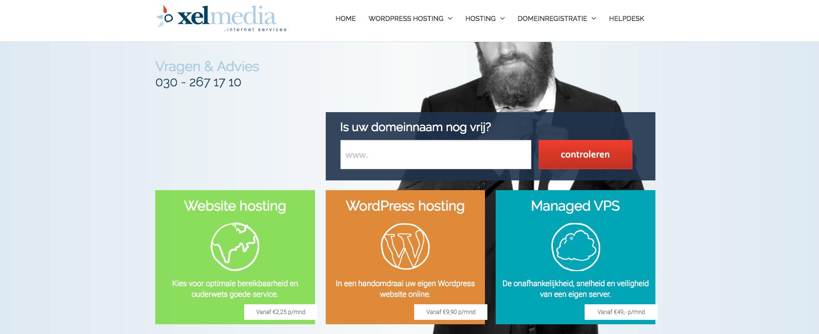 website registreren