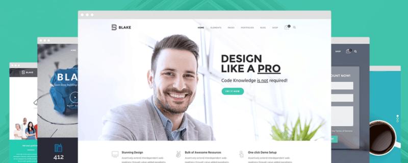 Blake   High Grade MultiPurpose WordPress