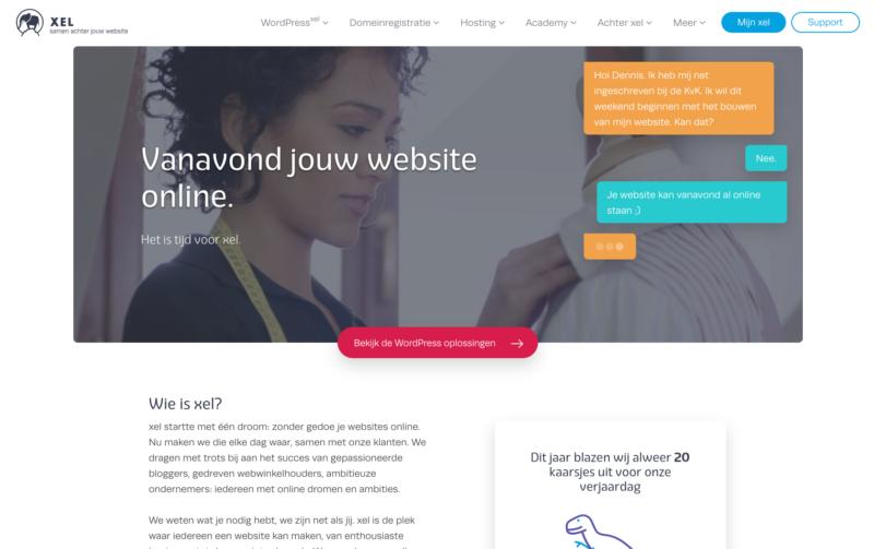 Samen achter jouw website   xel
